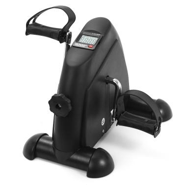 Mini Pedal Stepper Máquina de Exercício Display LCD Ciclismo Indoor Bike Stepper com Resistência Ajustável Para Home Office Gym