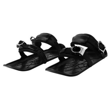 Mini Snowboard Shoes Outdoor Sports Wear-resistant Skiing Shoes Portable Mini Ski Skates