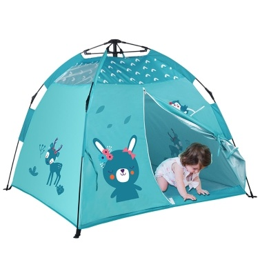 Baby Beach Tent Portable Pops Up Tent Sunshine Shelters Baby Shade with Mosquito Net Sunshine Shade Beach Tent for Children