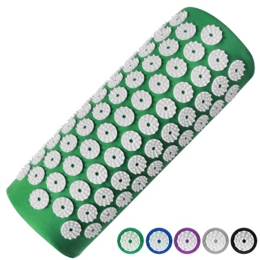 Acupressure Mat Back Pain Relief Massage Cushion Yoga Spike Mat Acupuncture Pad Needle Massage for Full Body