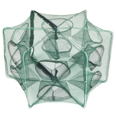 折り畳み式漁網六角形6穴漁網