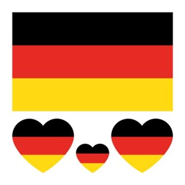 Umweltschutz Wasserdicht und Anti-Schweiß Nationalflagge Tattoos Aufkleber
