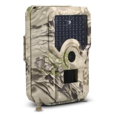 12MP 1080P Hinterkamera Jagd Spielkamera Outdoor Wildlife Scouting Kamera mit PIR Sensor 65ft Infrarot Nachtsicht IP56 Wasserdicht