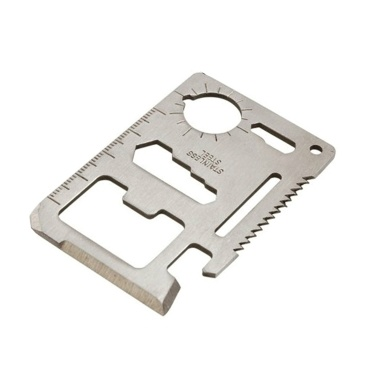 1pc 11-in-1 Multifunction Card Cutter Single Sawtooth