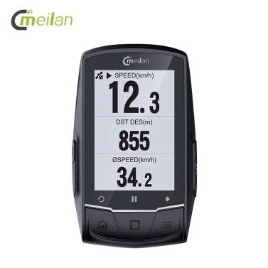 MEILAN M1 GPS Navigation Fahrradcomputer Peedometer Trittfrequenz