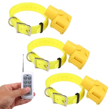 Hunting Dog Beeper Yellow Hunter Indicator Water Repellent Dog Training Collar for Small Medium Large Dogs