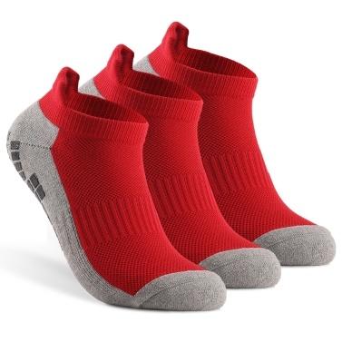 Anti-skid Soccer Socks Sports Ankle Socks Athletic Low-cut Socks Outdoor Fitness Breathable Quick Dry Socks Wear-resistant Athletic Socks Non-slip   Socks For Football Basketball Hockey Sports