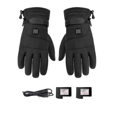 Motorcycle Riding Gloves Heating Thermostat Gloves Warm Windproof And Fall Proof Heating Gloves Motorcycle Gloves Riding Gloves Telefingers Gloves