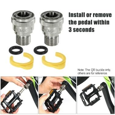 Lixada Removable Bike Pedal Adapter