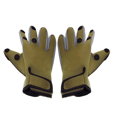 Outdoor Cycling Gloves Winter Warm Soft Gloves Sunscreen Windproof Waterproof Three Fingers Touch Screen Gloves Winter Sports Texting Fleece Gloves Fishing Running Hiking Skiing Mountaineering Abrasion Resistant Skid-proof