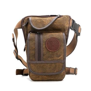 Multi-functional Canvas Waist Bag