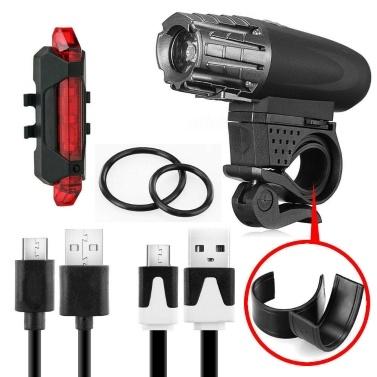 Wiederaufladbares LED-Fahrradlicht