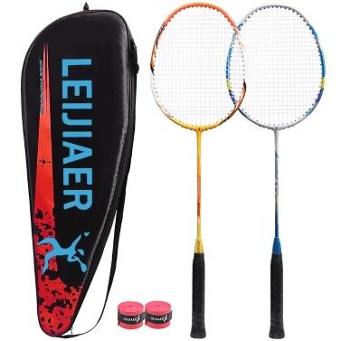 1 Pair of Integrated Badminton Racket