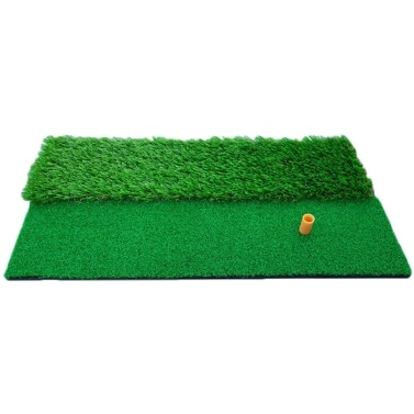 Durable Turf Golf Practice Hitting Mat with Tee Driving Chipping Golf Grass Mat Golf Hitting Pad Putting Training Aids for Backyard Home Outdoor