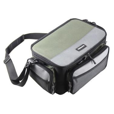 Multifunctional Fishing Tackle Bag Outdoor Carp Fishing Reel Lure Gear Storage Case Crossbody Shoulder Bag
