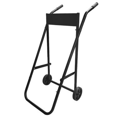Heavy Duty Outboard Trolley Boat Motor Carrier Cart Engine Storage Stand