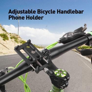 New Bicycle Light Stand Holder Clip Bike Lamp Bracket Adjustable Light Clip BS