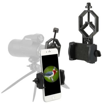 Eyeskey Spotting Scope Adapter Telefonhalterung Kompatibel mit Teleskop Spektive Gleitschirm Fernglas Monokular