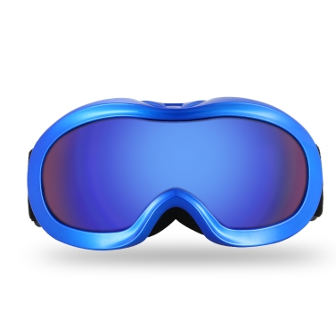 Lixada Anti-fog Skibrille UV Schutz Dual Objektiv Snowboard Brille Winddicht Schnee Skating Skifahren Sport Goggle für Kinder