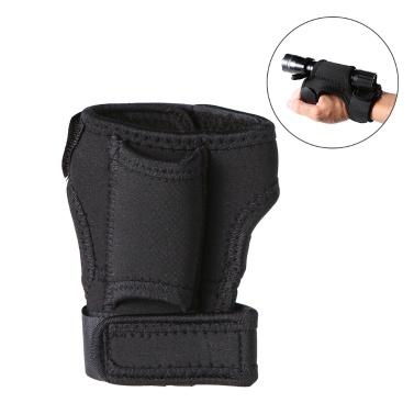 Trustfire Outdoor Taschenlampe Taschenlampe Halter Soft Neopren Hand Arm Mount Handschlaufe Handschuh Hand frei