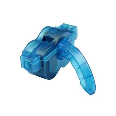 BIKEIN PRO Tragbare Fahrrad Kettenreiniger mit blauen Kunststoff-Box und Griff Bike Reinigung Wash Zubehör Tools