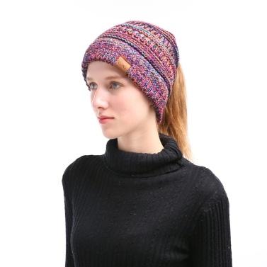 Winter Women Girl Knitted Beanies Cap