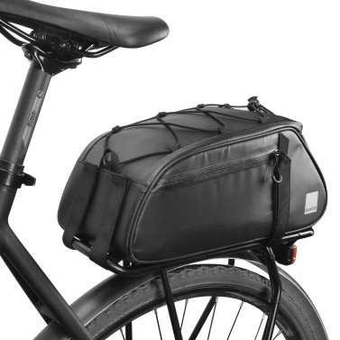 8L Bicycle Rear Seat Trunk Bag Large Capacity Rear Panniers Bag Reflective Rear Saddle Bag MTB Road Bike Bag Bicycle Storage Bag Hand Bag