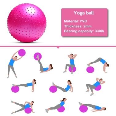 Anti-burst Yoga Ball Thickened Stability Balance Ball