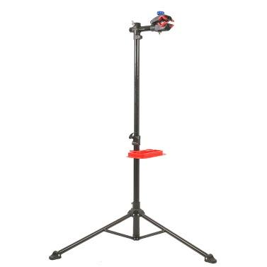 """36 """"bis 67"""" Teleskop-Bike Repair Einstellbare Höhe Stand Fahrradstand-Zahnstangen Lötstation mit Werkzeugablage"""