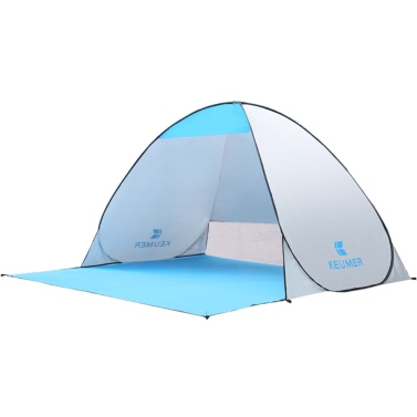 (120 + 60) * 150 * 100 centímetros automática Outdoor instantânea Pop-up portátil Praia Tenda Anti UV Shelter Camping Caminhadas Pesca Picnic