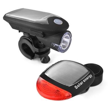Lumière LED de bicyclette rechargeable d