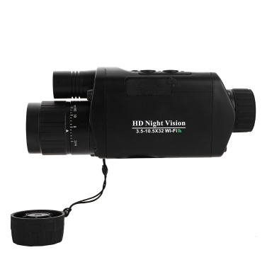 3.5-10.5x32 WIFI Digital Monocular Teleskop Infrarot Nachtsichtgerät Teleskop Kamera Video