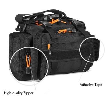 Multifunctional Fishing Tackle Bag Outdoor Sports Fishing Lures Tackle Gear Utility Storage Bag Shoulder Bag Pack