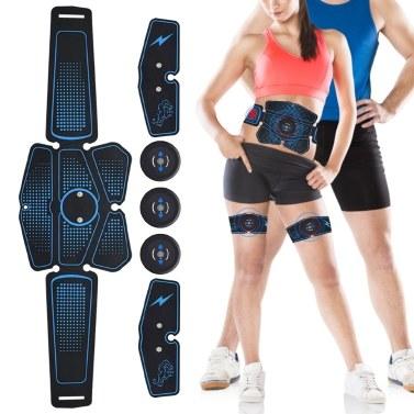 Abs Stimulator Abdominal Trainer Rechargeable Wireless Abdominal Toning Belt