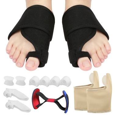 13pcs Bunion Corrector Set Bunion Relief Protector Sleeves Kit Toe Separators Spacers Straighteners Set