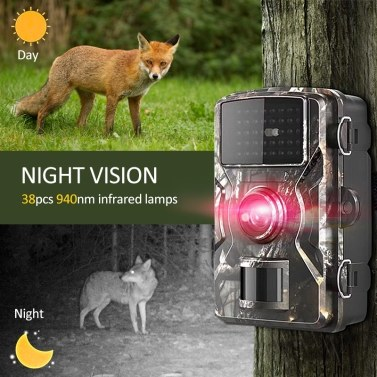 12MP 1080P Wildlife Hunting Trail and Game Camera