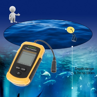 Lixada Fish Detection Sonar Sensor Fishing Finder
