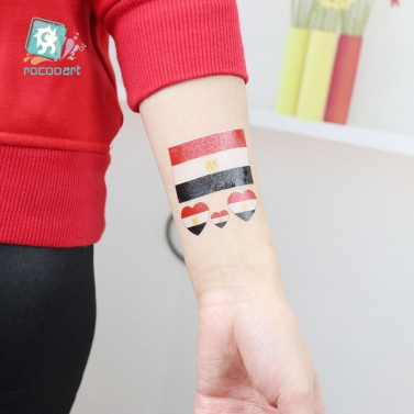 Football Fan National Flag Sticker for 2018 FIFA World Cup