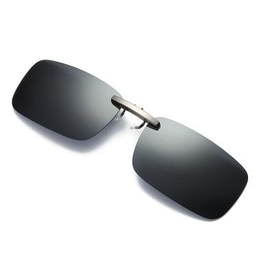 UV400 Rimless Polarized Sunglasses Clip