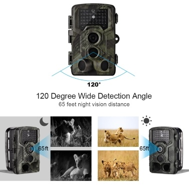 Lixada HC 800A 12MP 1080P Trail Camera