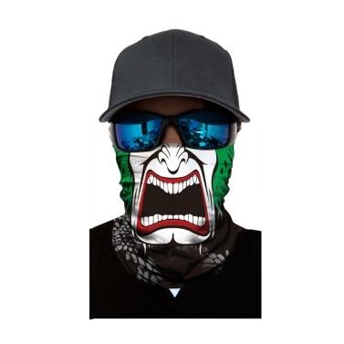 Cool Robot Skeleton Halloween Mask Scarf