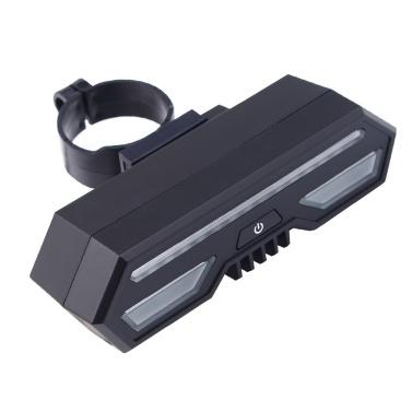 Wasserdichtes USB-wiederaufladbares LED-Fahrradrücklicht
