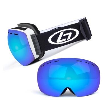 Magnetische Snowboard-Schneebrille