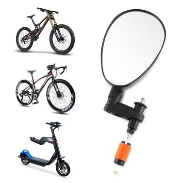 CXWXC Specchietto retrovisore singolo portatile per bici