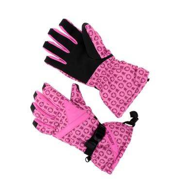 2Pcs Winter Women Windproof Thermal Skiing Skating Gloves