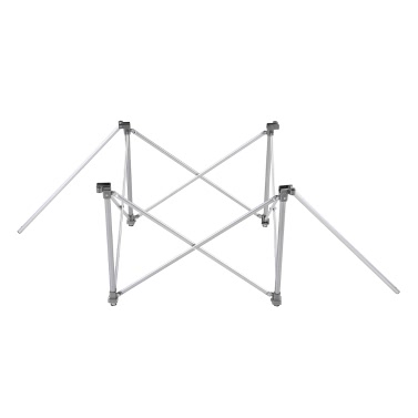 Height Adjustable Folding Table Outdoor Portable Aluminum Alloy Camping Table Desk Furniture Foldable Picnic Table with Carry Bag