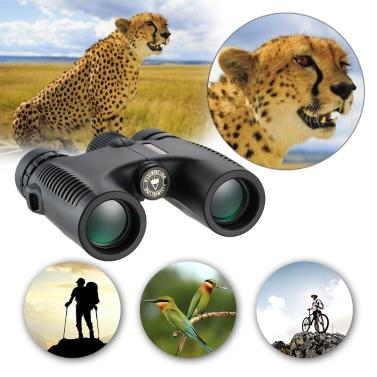 Visionking HD 10X26 Waterproof Compact Binocular BaK4 Roof Prism Wide Angle Powerful Zoom Binoculars Outdoor Portable Lightweight Birdwatching Hunting Telescope