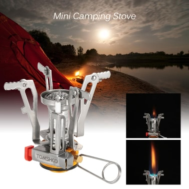 TOMSHOO Mini Backpacking Canister Stove Burners