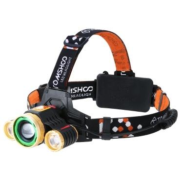 TOMSHOO 180 degree adjustable LED Headlight