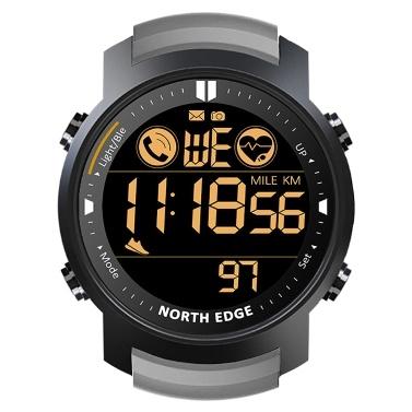 NORTH EDGE Smart Watch Hombres Monitor de frecuencia cardíaca